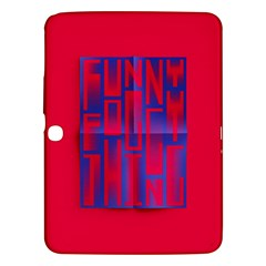 Funny Foggy Thing Samsung Galaxy Tab 3 (10 1 ) P5200 Hardshell Case