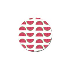 Watermelon Pattern Golf Ball Marker (10 Pack) by Nexatart