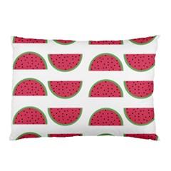 Watermelon Pattern Pillow Case (two Sides) by Nexatart