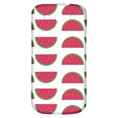 Watermelon Pattern Samsung Galaxy S3 S Iii Classic Hardshell Back Case by Nexatart