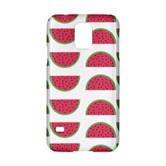 Watermelon Pattern Samsung Galaxy S5 Hardshell Case  by Nexatart