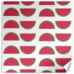 Watermelon Pattern Canvas 12  X 12