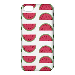 Watermelon Pattern Apple Iphone 5c Hardshell Case by Nexatart