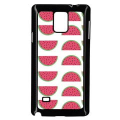 Watermelon Pattern Samsung Galaxy Note 4 Case (black)