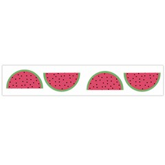 Watermelon Pattern Flano Scarf (large) by Nexatart