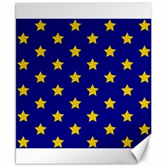 Star Pattern Canvas 8  X 10  by Nexatart