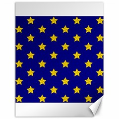 Star Pattern Canvas 12  X 16   by Nexatart