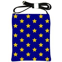 Star Pattern Shoulder Sling Bags by Nexatart