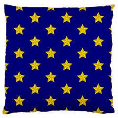 Star Pattern Large Cushion Case (two Sides) by Nexatart