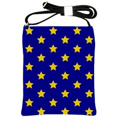 Star Pattern Shoulder Sling Bags by Nexatart