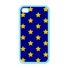 Star Pattern Apple Iphone 4 Case (color) by Nexatart