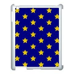 Star Pattern Apple Ipad 3/4 Case (white) by Nexatart