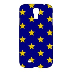 Star Pattern Samsung Galaxy S4 I9500/i9505 Hardshell Case by Nexatart