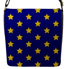 Star Pattern Flap Messenger Bag (s)