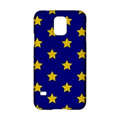 Star Pattern Samsung Galaxy S5 Hardshell Case  by Nexatart