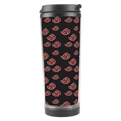 Cloud Red Brown Travel Tumbler by Mariart