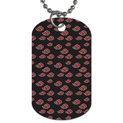 Cloud Red Brown Dog Tag (two Sides) by Mariart