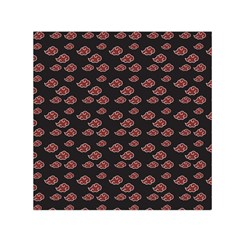 Cloud Red Brown Small Satin Scarf (square) by Mariart