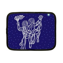 Gemini Zodiac Star Netbook Case (small)  by Mariart