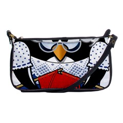 Grandma Penguin Shoulder Clutch Bags by Nexatart