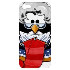 Grandma Penguin Apple Iphone 5 Hardshell Case