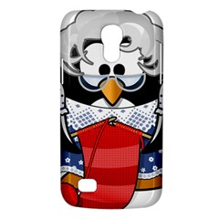 Grandma Penguin Galaxy S4 Mini by Nexatart