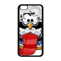 Grandma Penguin Apple Iphone 5c Seamless Case (black) by Nexatart
