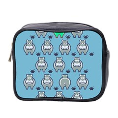 Funny Cow Pattern Mini Toiletries Bag 2 Side