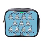 Funny Cow Pattern Mini Toiletries Bag 2-Side Front