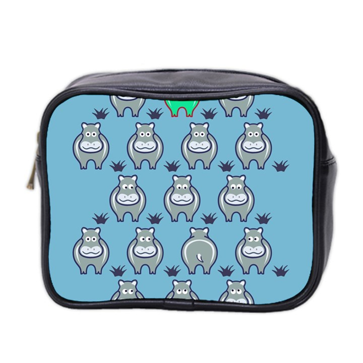 Funny Cow Pattern Mini Toiletries Bag 2-Side