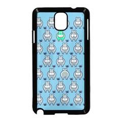 Funny Cow Pattern Samsung Galaxy Note 3 Neo Hardshell Case (black) by Nexatart