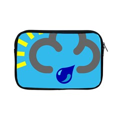 Light Rain Shower Cloud Sun Yellow Blue Sky Apple Ipad Mini Zipper Cases by Mariart