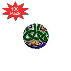Celtic Ornament 1  Mini Magnets (100 Pack)