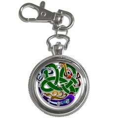 Celtic Ornament Key Chain Watches by Nexatart