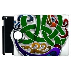 Celtic Ornament Apple Ipad 3/4 Flip 360 Case