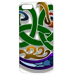 Celtic Ornament Apple Iphone 5 Hardshell Case With Stand