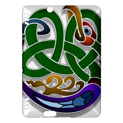 Celtic Ornament Kindle Fire Hdx Hardshell Case by Nexatart