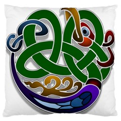 Celtic Ornament Standard Flano Cushion Case (two Sides)