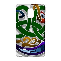 Celtic Ornament Galaxy Note Edge by Nexatart