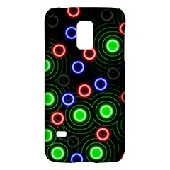 Neons Couleurs Circle Light Green Red Line Galaxy S5 Mini by Mariart