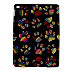 Colorful Paw Prints Pattern Background Reinvigorated Ipad Air 2 Hardshell Cases by Nexatart