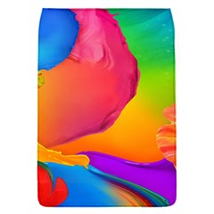 Paint Rainbow Color Blue Red Green Blue Purple Flap Covers (s)  by Mariart