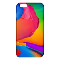 Paint Rainbow Color Blue Red Green Blue Purple Iphone 6 Plus/6s Plus Tpu Case by Mariart