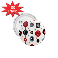 Retro Ornament Pattern 1 75  Buttons (100 Pack)  by Nexatart