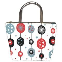 Retro Ornament Pattern Bucket Bags