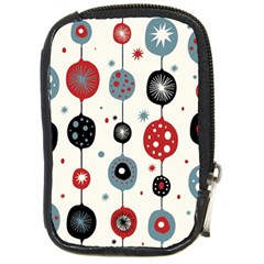 Retro Ornament Pattern Compact Camera Cases by Nexatart