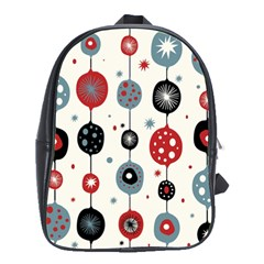 Retro Ornament Pattern School Bags(large)