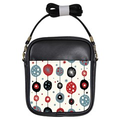 Retro Ornament Pattern Girls Sling Bags by Nexatart
