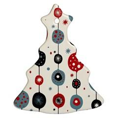 Retro Ornament Pattern Ornament (christmas Tree)