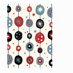 Retro Ornament Pattern Large Garden Flag (two Sides)